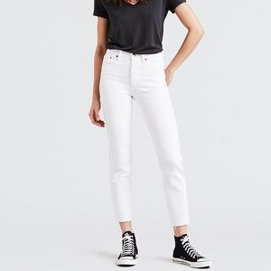 Levis Wedgie Straight Cropped Jeans